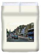 Downtown Edinburgh  Duvet Cover