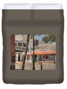 Downtown Key West Duvet Cover