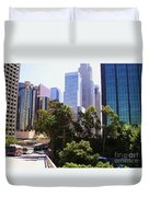 Downtown Los Angeles. 6th Street Duvet Cover