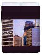 Downtown Milwaukee - 2 Duvet Cover