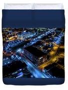 Downtown Neenah Duvet Cover