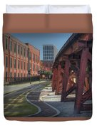 Downtown Paradox Duvet Cover