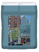 Downtown Raleigh - West Martin Street Duvet Cover