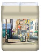 Downtown Duvet Cover