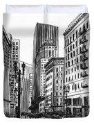 Downtown San Francisco Duvet Cover