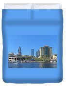 Downtown Tampa-2 Duvet Cover