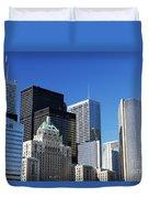 Downtown Toronto Duvet Cover