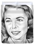 Dr. Joyce Brothers Duvet Cover