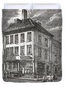 Dr. Samuel Johnson S Birthplace In Duvet Cover