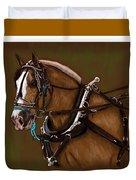 Draft Horse Duvet Cover