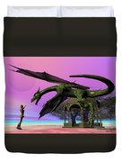 Dragon Duvet Cover by Corey Ford