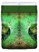 Dragon Eyes At Dawn Duvet Cover