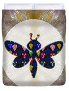 Dragon Fly Cute Painted Face Cartons All Over Donwload Option Link Below Personl N Commercial Uses Duvet Cover