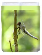 Dragonfly Slow Dance Duvet Cover