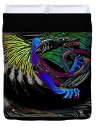 Dragon Flying Duvet Cover