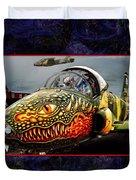 Dragon Jet Duvet Cover