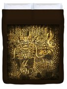 Dragon Pattern Duvet Cover by Setsiri Silapasuwanchai