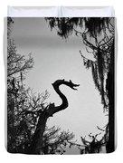 Dragon Shaped Tree Duvet Cover