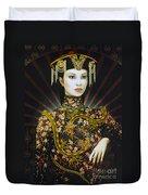 Dragon Smoke Duvet Cover by Jane Whiting Chrzanoska