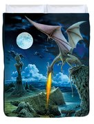 Dragon Spit Duvet Cover by The Dragon Chronicles - Robin Ko