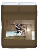 Dragon With Red Cross Duvet Cover