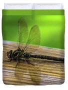 Dragonfly Colors Duvet Cover