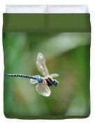 Dragonfly In Flight Duvet Cover