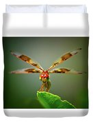 Dragonfly Pitstop Duvet Cover