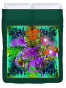 Dragons Abstract. Duvet Cover