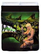 Dragon's Bane Color Duvet Cover