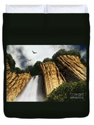 Dragons Den Canyon Duvet Cover