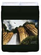 Dragons Den Canyon Duvet Cover