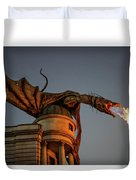 Dragon's Revenge Duvet Cover
