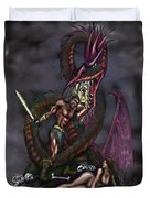 Dragonslayer Duvet Cover