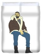 Drake Views Duvet Cover