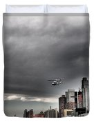 Drama In The City 3 Duvet Cover