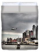 Drama In The City 8 Duvet Cover