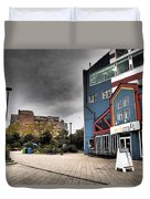 Drama In The City 9 Duvet Cover