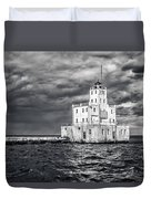 Drama In The Clouds Duvet Cover