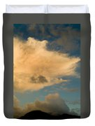 Dramatic Clouds In The Sky Resting Duvet Cover