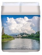 Dramatic Clouds Over Salzburg Duvet Cover