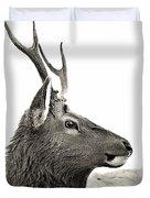 Dramatic Deer Duvet Cover
