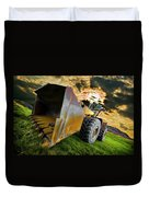 Dramatic Loader Duvet Cover by Meirion Matthias