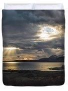 Dramatic Skye Duvet Cover