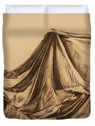 Draped Fabric Duvet Cover