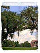 Drayton Hall Plantation Charleston Duvet Cover