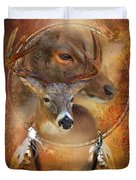 Dream Catcher - Autumn Deer Duvet Cover