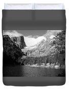 Dream Lake, Rocky Mountain National Park  Duvet Cover