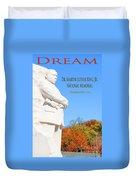 Dream Mlk Memorial Duvet Cover