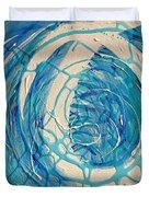 Dream Weaver Diptych Duvet Cover